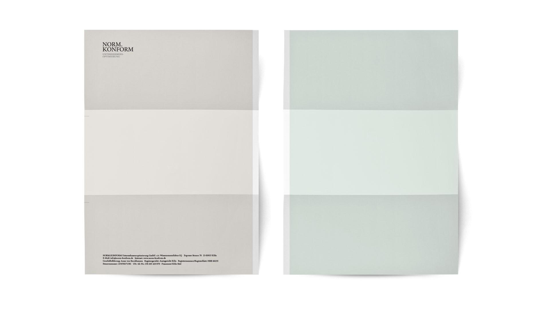 BUREAU KUEPPERS Corporate Design für Norm.Konform GmbH
