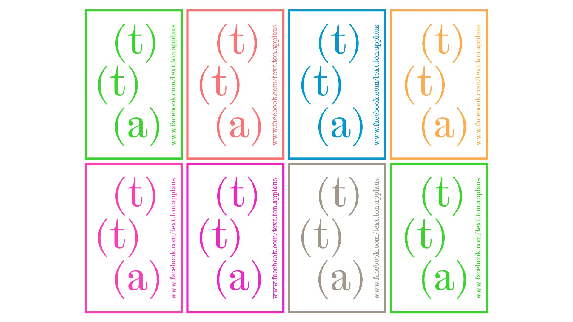 BUREAU KUEPPERS Identitätsentwicklung für Text, Ton, Applaus!